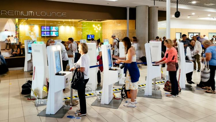 Pafos Airport - BorderXpress™ kiosks